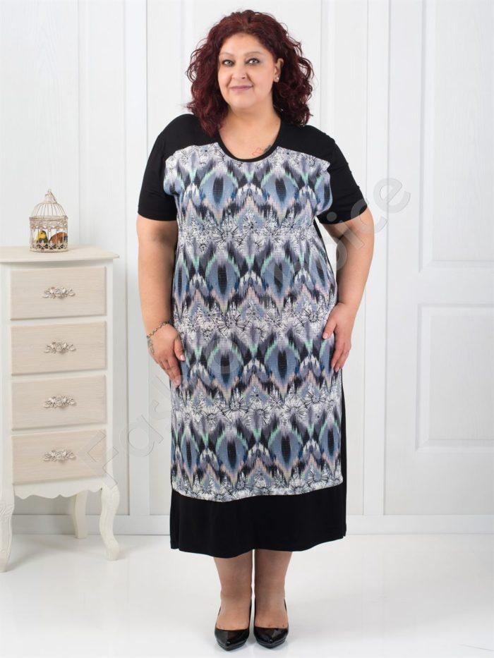 Красива дълга макси рокля в четири цвята-код 14966