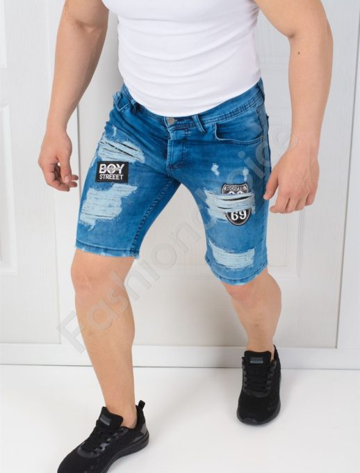 Мъжки накъсани летни дънки BOY STREET-код 9226