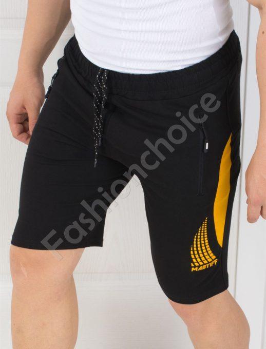 Мъжки памучни панталонки с щампа-код 211