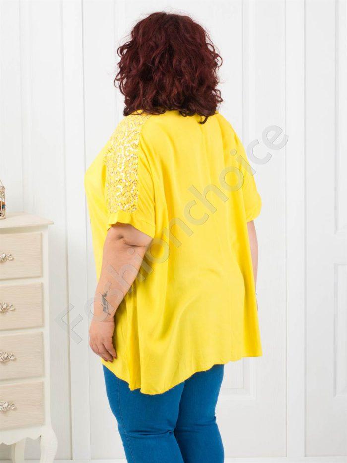 Макси туника в четири свежи летни цвята