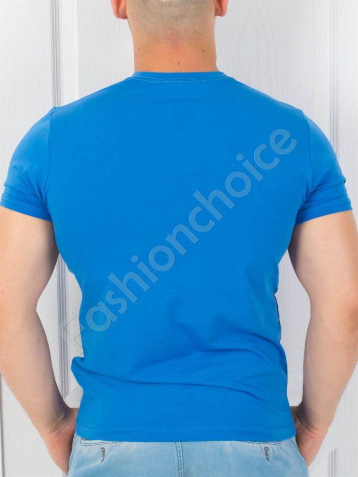 Мъжка тениска в четири актуални цветни десена
