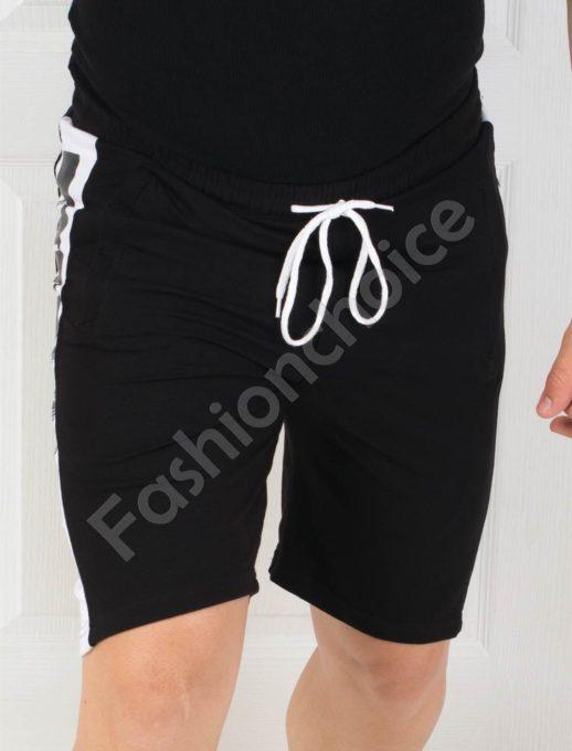 Къси мъжки панталонки със страничен кант