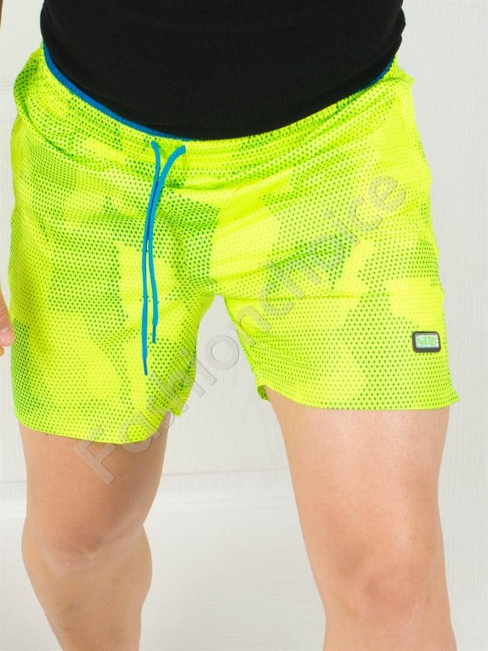 Къси мъжки панталонки в два летни цвята