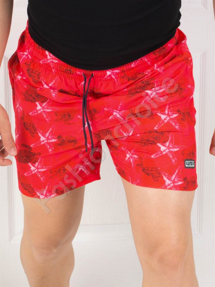 Къси мъжки панталонки с морски мотиви/три цвята/-код 1744