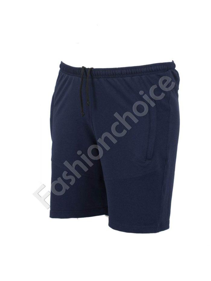 Къси мъжки макси спортни панталони в тъмно синьо/58-66/Код 001-2
