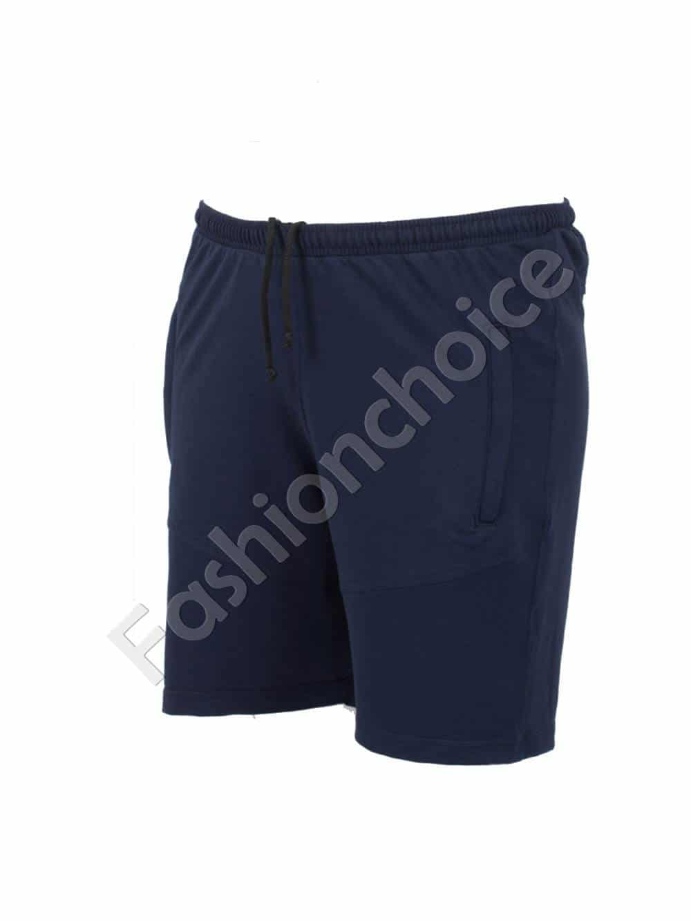 78ad981c18a Къси мъжки макси спортни панталони в тъмно синьо/58-66/Код 001-2
