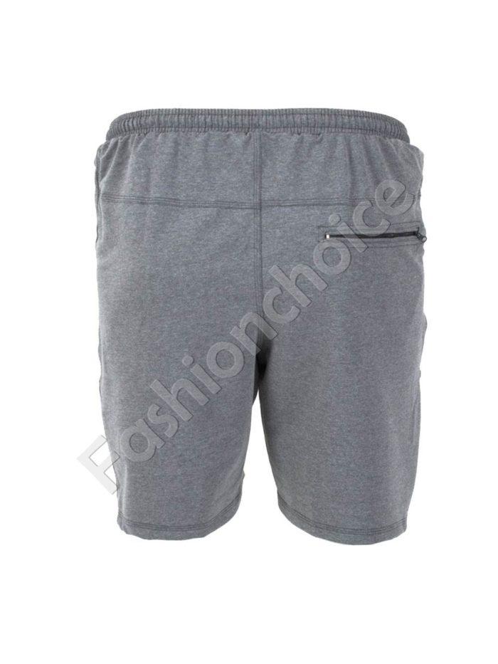 Къси мъжки макси спортни панталони в сиво/58-66/Код 001-1