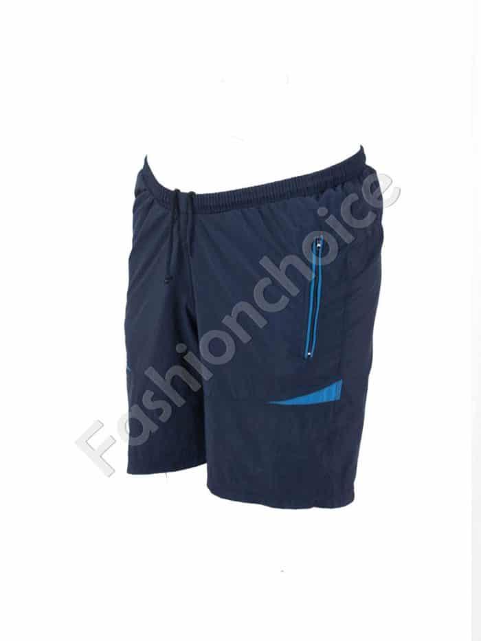 Къси макси спортни панталони в тъмно синьо/58-66/Код 001-4