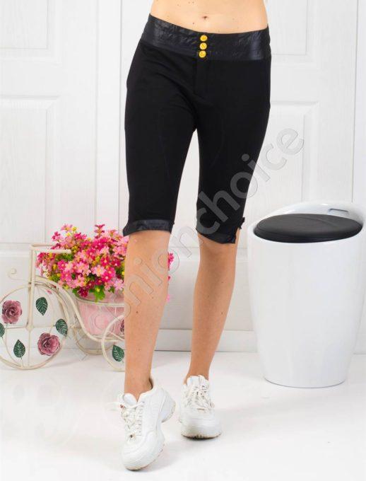 Страхотен дамски спортен панталон в черно