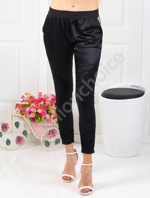 80378324291 Спортно-елегантен дамски панталон в черно-код 180-1362 ...