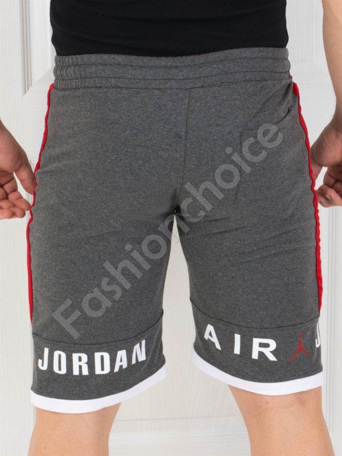 Мъжки къси панталонки JORDAN в сиво-код 844-3