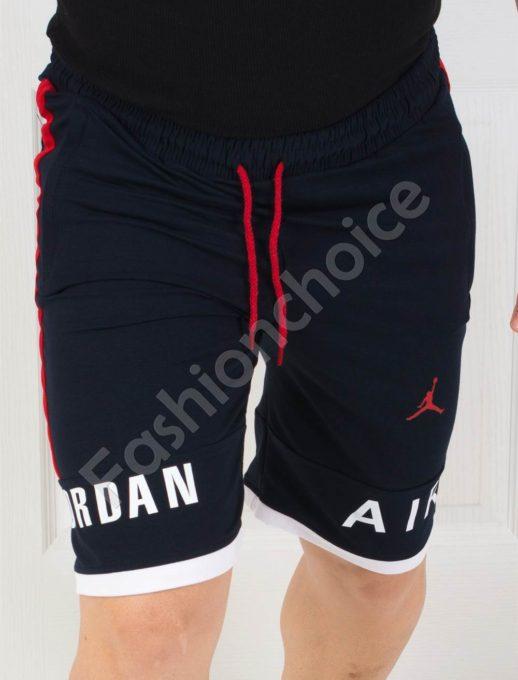 Мъжки къси панталонки JORDAN в тъмносиньо