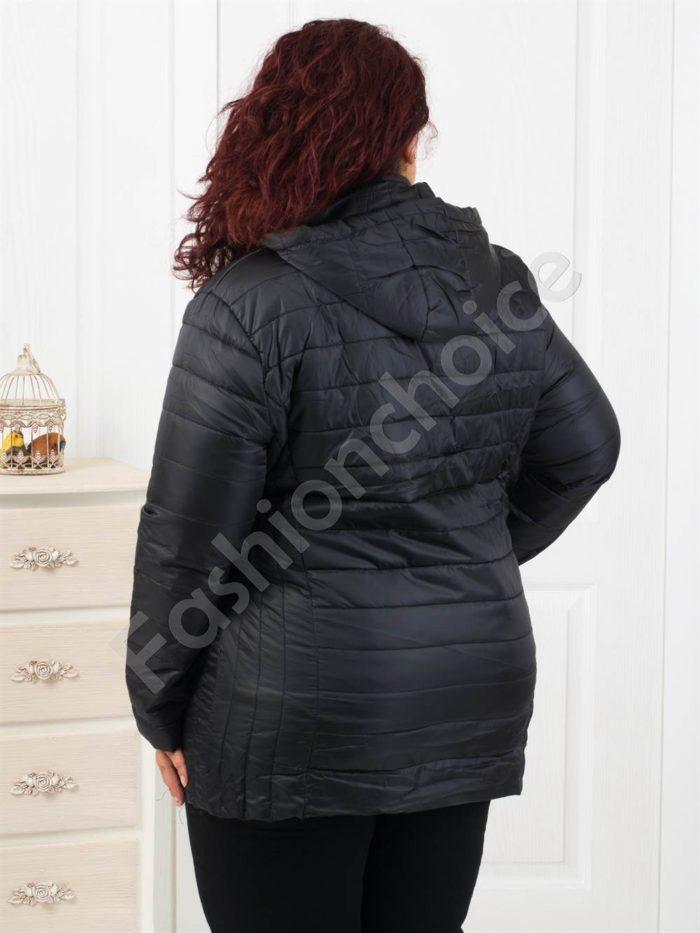 Дамско спортно-елегантно яке в черно- Код 1807