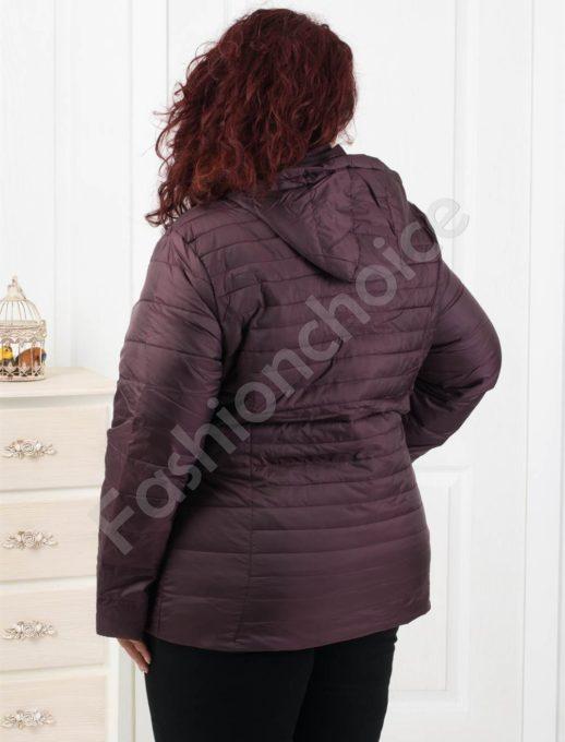 Елегантно дамско яке в тъмно лилаво- Код 1903-1
