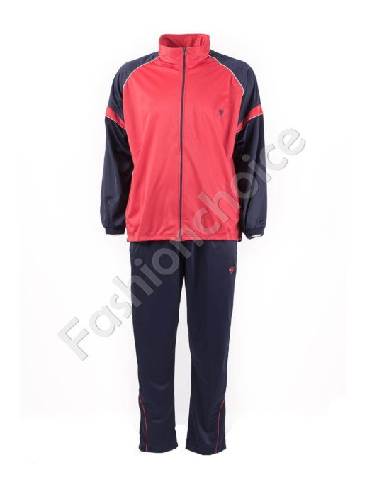 Мъжки макси спортен комплект в червено-код 031