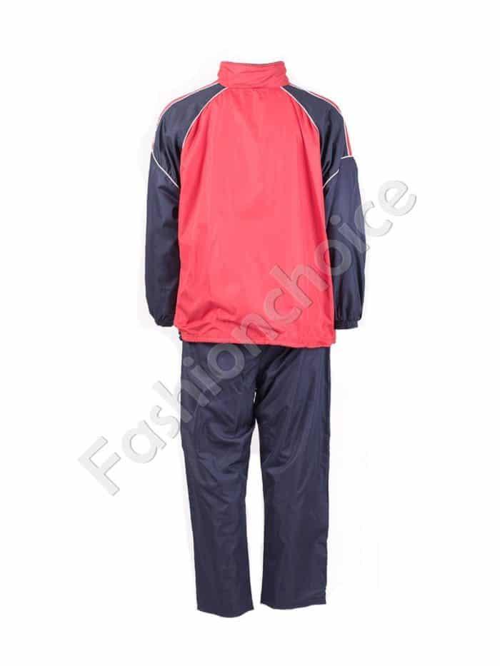 Мъжки спортен екип в червено-код 031