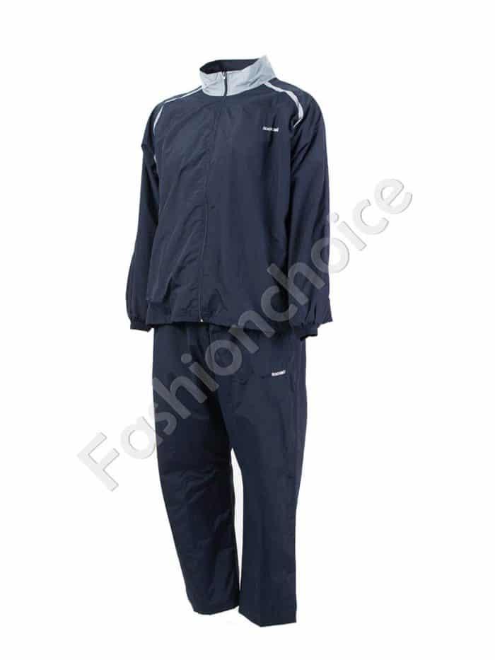 Мъжки макси спортен комплект с акценти в сиво-код 031-4