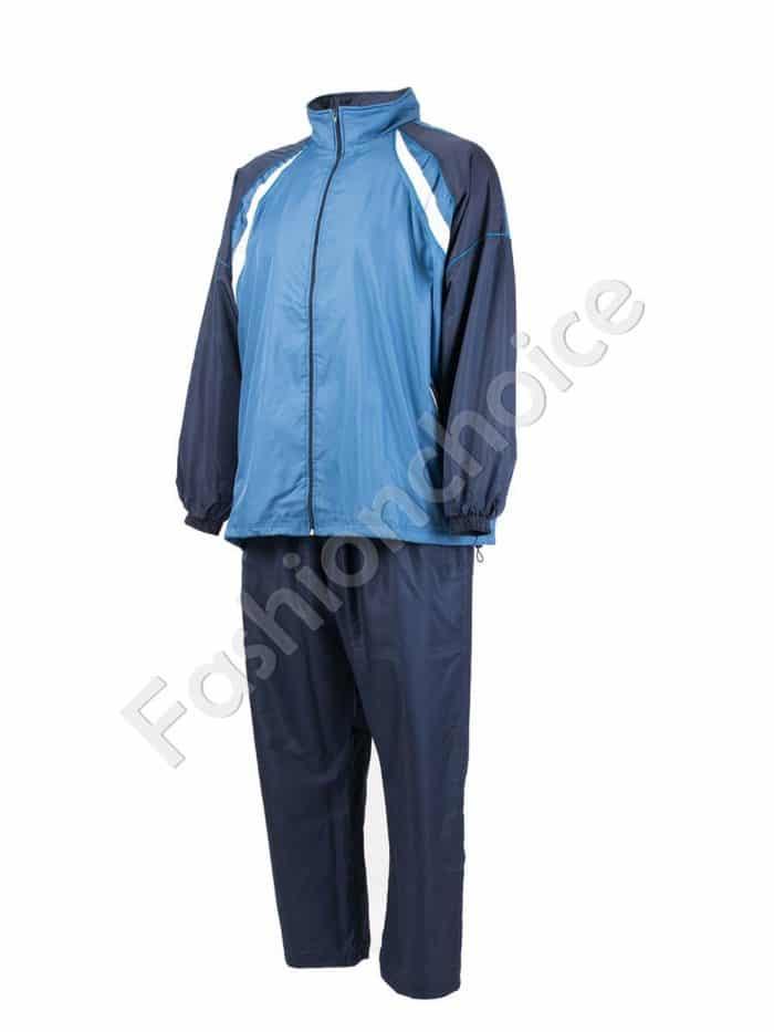 Мъжки спортен екип в синьо/макси размери/-код 031-2
