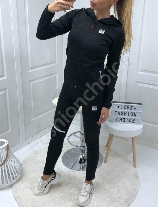 Дамски спортен комплект в черно-Код 008