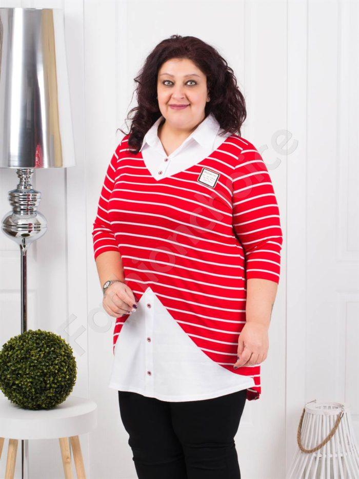 Елегантна туника тип риза