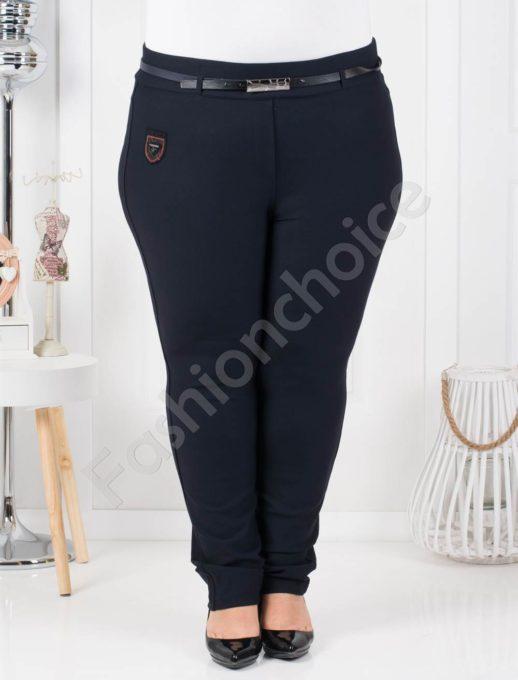 Пролетен макси клин-панталон с коланче