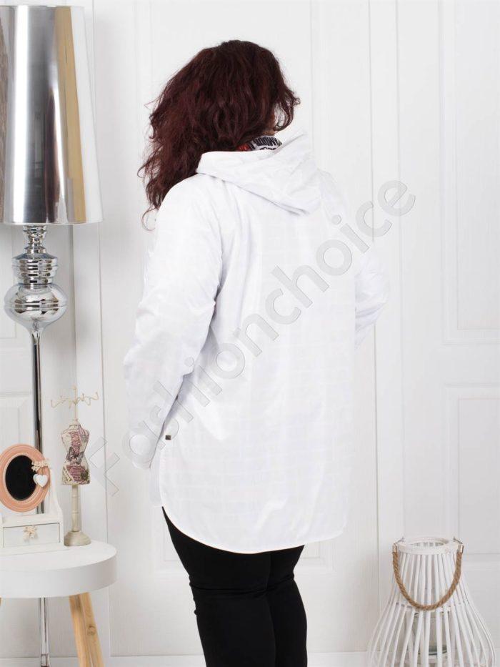 Тънко двулицево макси яке