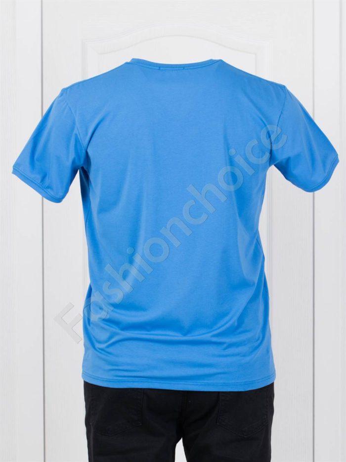 Мъжка макси тениска с надпис JEANS