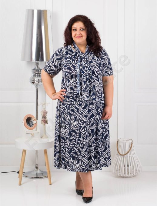 Прекрасна разкроена макси рокля+подарък шалче-код 537-8