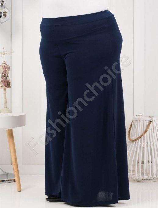 Дамска макси пола-панталон в тъмносин нюанс-код 538-1