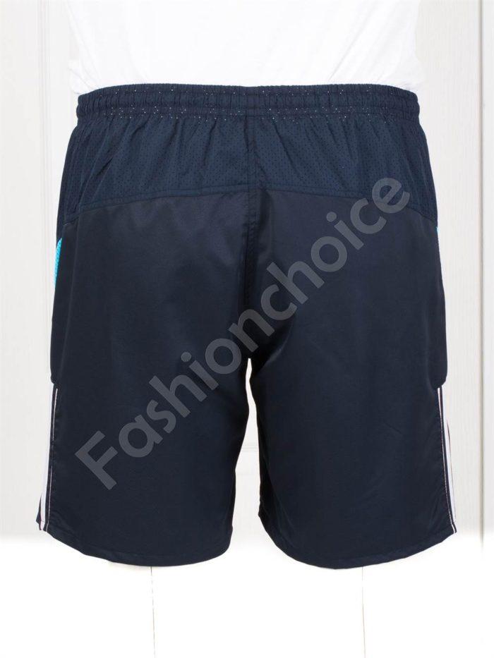 Мъжки макси плувни шорти в тъмносиньо-код 120-1