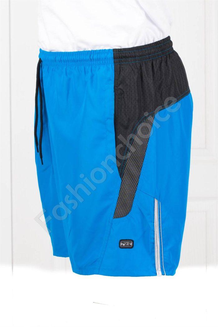 Мъжки макси плувни шорти в светлосиньо-код 120-2